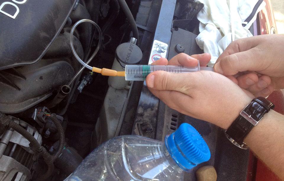 Замена моторного масло своими руками 577