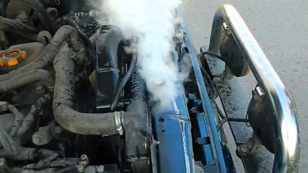 Перегрев мотора