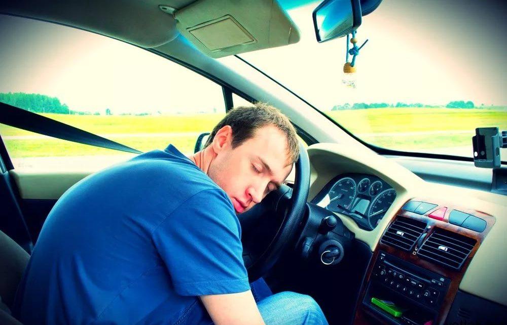 Уснул за рулем